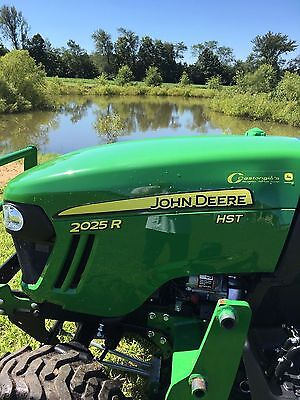 John Deere 2025R With Mower Deck And Loader!!