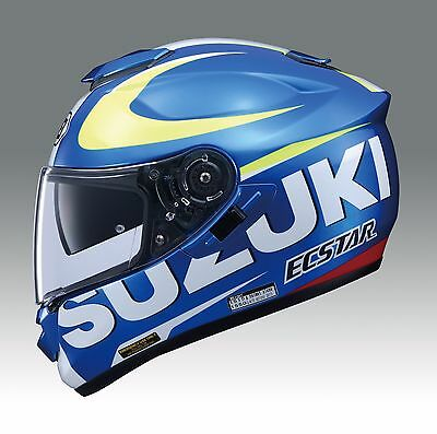 Genuine Suzuki Moto GP GSXR Shoei GT Air Helmet Full Face Motorcycle Motorbike