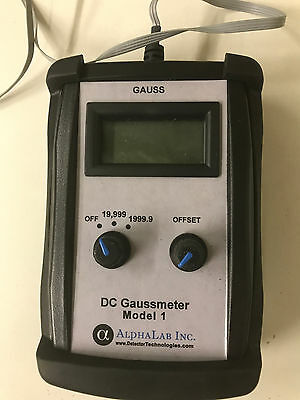 DC gaussmeter Model 1 AlphaLab, Inc.