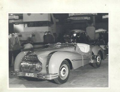 1947 1948 1949 1950 Alvis TB14 Sports Tourer ORIGINAL Factory Photo wy2509