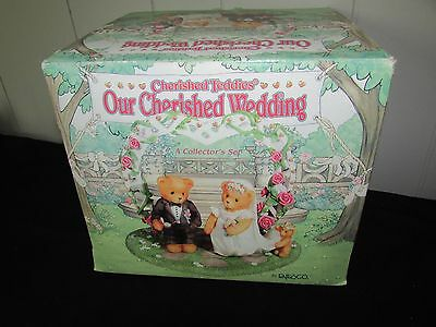 Cherished Teddies Our Cherished Wedding 3 Piece Set #510254