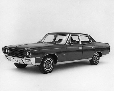 1970 AMC Ambassador Factory Photo ca8102