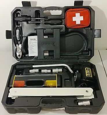 Used - Michelin - Emergency Roadside Kit, Repair, First Aid -Excellent - READ