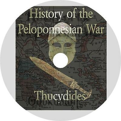 History of the Peloponnesian War, Thucydides Greece War Audiobook on 1 MP3 CD