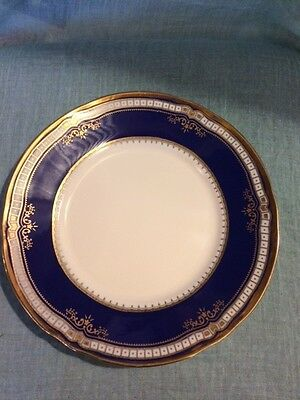 CHINA - Replica TITANIC Pattern (Cobalt Blue & Gold) - Plate Rare 1st Class