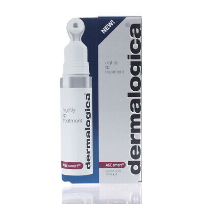 Dermalogica AGE Smart Nightly Lip Treatment 0.34oz/10ml NEW IN BOX