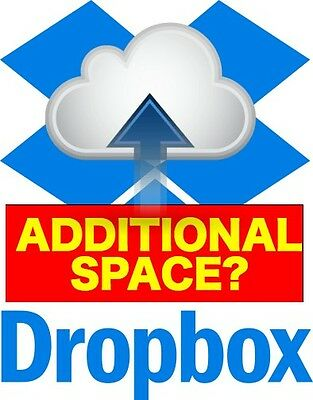 Dropbox Permanent 1GB Extra Lifetime Space (Instant Delivery)