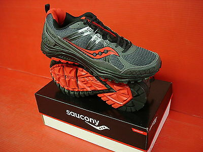 Details about Saucony Men's Grid Excursion TR10 S25301 10 GrayBlackRed New in Box