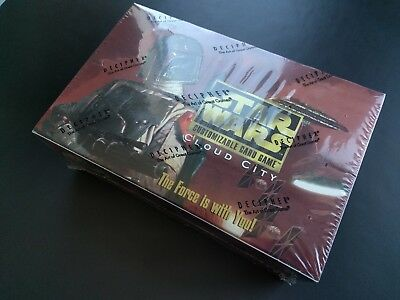 NEW Star Wars CCG Cloud City Limited Edition Booster Box Decipher: MINT, SEALED