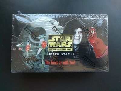 NEW Star Wars CCG Death Star II Limited Edition Booster Box: SEALED, MINT, RARE!