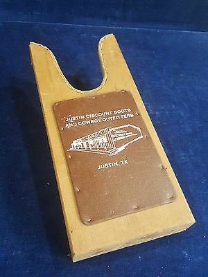 Boot jack from Justin Discount Boots and Cowboy Outfitters Justin TX