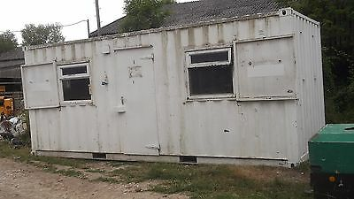 Open plan office container -small house £2500 plus vat £3000