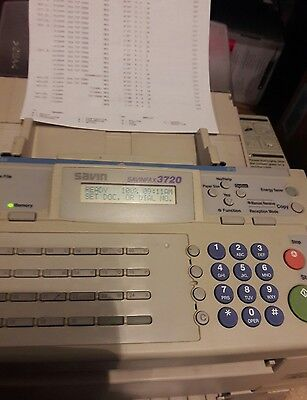 SAVIN FAX 3720 Professional Office Equipment High Power Fax/Copy Works Great!