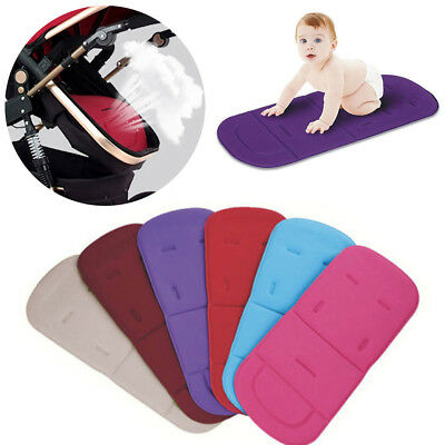 Universal Pram Liner Car Seat Liner Cushion Pad Pushchair Padding Soft Cover Mat