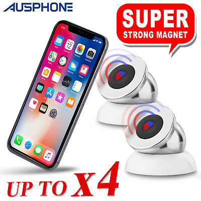 2x Universal Magnetic Mount Car Holder For iPhone 8 Plus 6s 7 Samsung S8