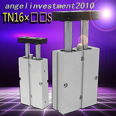 1PC New Twin rod cylinder (Double acting type) TN16×□□S compatible AirTAC Type
