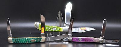 LOT OF 3 KNIVES- Folding Pocket Knife  (3446) FROST FAMILY- STEEL WARRIOR