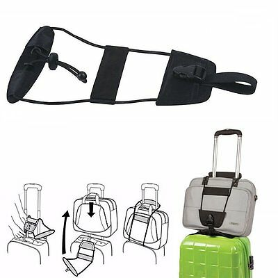Travel Bag Bungee Luggage Add A Bag Strap Travel Suitcase Attachment System