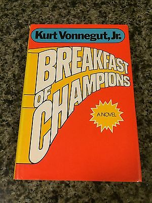 a literary analysis of breakfast of champions by kurt vonnegut Kurt vonnegut: breakfast of champions kurt vonnegut's breakfast of champions is a bleakly comic postmodern reflection on literature and language vonnegut deliberately pays little attention to the plot.