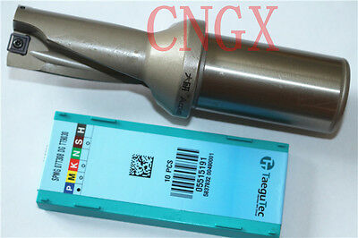 1P C32-2D33-70 WC06 U drill indexable drill 33mm-2D with 2PCS WCMX06T308