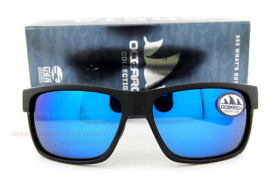 844ede7ec790 New Costa Del Mar Fishing Sunglasses Ocearch HALF MOON Black Blue Made in  USA