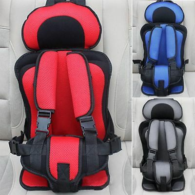 Portable Child Kids Baby Car Protective Safety Secure Seat Carrier Chair Cushion