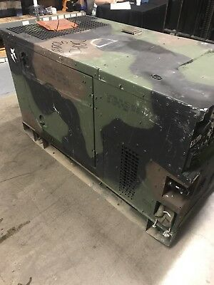 10 Kw Silent Diesel Fermont MEP803A Backup Military Industrial Standby Generator
