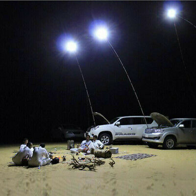 5M Telescopic Fishing Rod Remote Control Car LED Lantern Outdoor Camping  Light