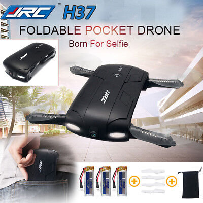 JJRC H37 ELFIE Foldable MINI Drone Pocket FPV HD Camera QuadcopterGyro Height Ho