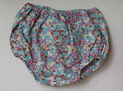 Bonpoint Baby Liberty Print Floral Bloomers Shorts 18 Months