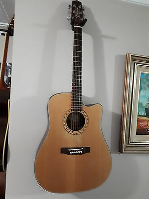 Takamine EF340SC- Pro Series Acoustic Electric Guitar Made in Japan