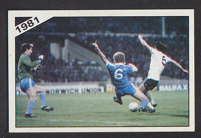 PANINI FOOTBALL 86-#401-1985-F.A.CUP FINAL-AET-MANCHESTER UNITED 1 EVERTON 0