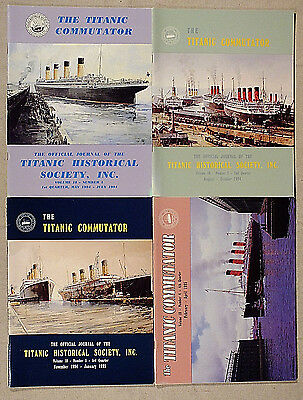 (4) The TITANIC COMMUTATOR 1994 (-95) Voume 18 (Magazine, Publication, Journal)