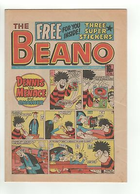 The Beano Comic - No 2255  - 1985  - FREE GIFT - VERY RARE!!!!