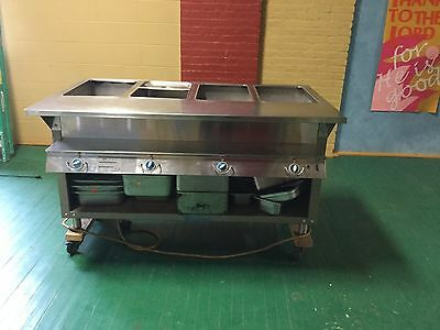 Dukes's electric steam table/food warming buffet table