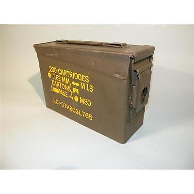 This is a 30 CAL AMMO CAN M19A1 USGI Military Surplus grade one Condition.