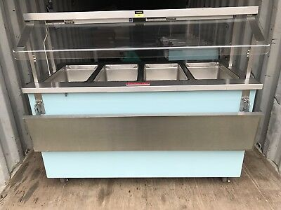 Colorpoint 4 Well Electric Steam Table