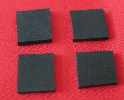 4 x Sorbothane Pads/Feet 40 x 40 x 3 mm. Enhanced Sound & Isolation. Great Value