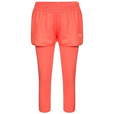 Li Ning, Shorts Donna A640, Rosso (Himbeere), XS