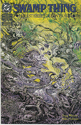 SWAMP THING 108...NM-..(Vol 2)...1991...Quest For The Elementals Pt.5...Bargain!