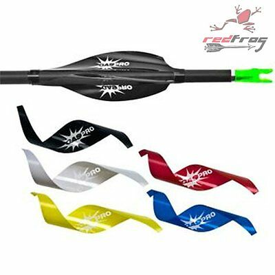 "New GasPro Archery 2"" Spin Wing Vanes Shield  Field Medium 45lbs Draw Weight"