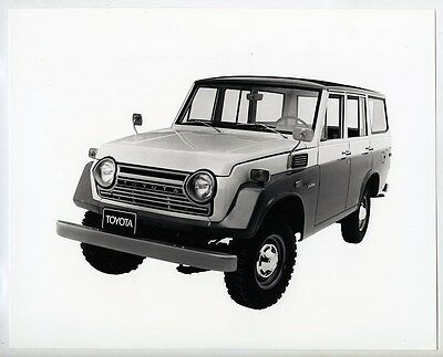 1968 ? Toyota Land Cruiser Station Wagon ORIGINAL Factory Photograph wy1900