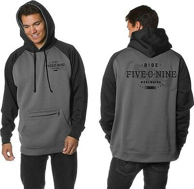 509 TECH TWO TONE PULLOVER HOODIE SWEATSHIRT  Snowmobile Sled -Large-XL-2XL -NEW