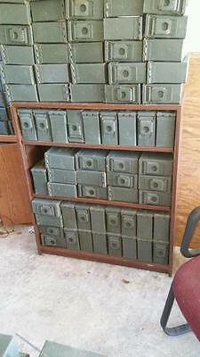 100 30-Cal-Ammo-Can-Box-Army-Military-M19A1 Grade 1