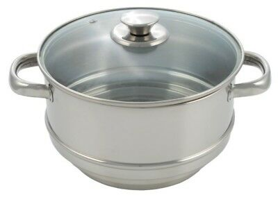 Pendeford Stainless Steel Collection Steamer 20cm