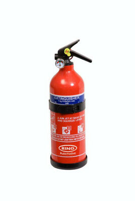 Ring 1kg ABC Dry Powered Fire Extinguisher (with gauge)