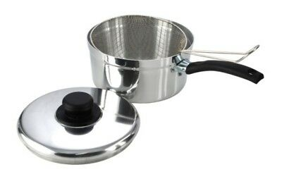 Pendeford Value Plus Collection Polished Chip Pan No Lid 20cm