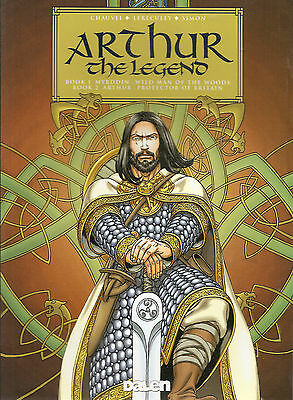 Arthur The Legend, David Chauvel. Graphic Novel Pb 2009