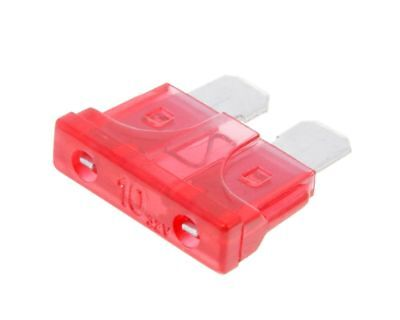 Fuse blade fuse 10A 19,2mm red
