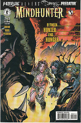 WITCHBLADE ALIENS DARKNESS PREDATOR:MINDHUNTER 2B VARIANT...NM-..2000...Bargain!